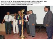 Ex - VC Inauguration of the international student day celebration 2008